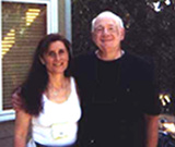 Photograph of Dr. Irene Blinston and Dr. Raymond Moody in Austin, TX Omega at the Crossings